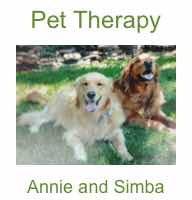 Pet Therapy Annie and Simba